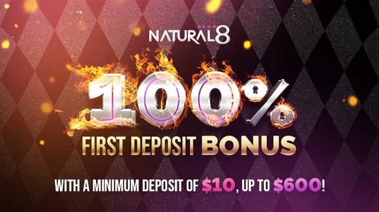 Natural8 bonus
