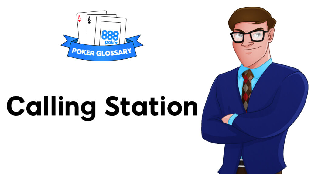 Calling Station Poker players