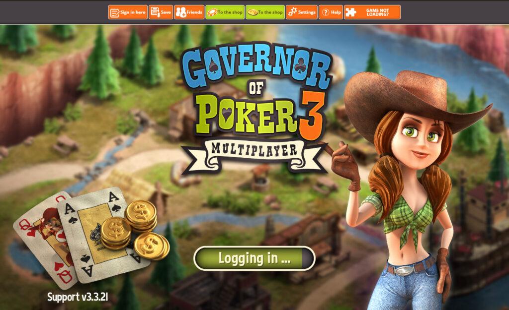 Governor of Poker website